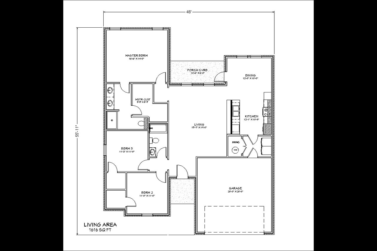 1616 / 3bd – 2bth – 2 Garage images