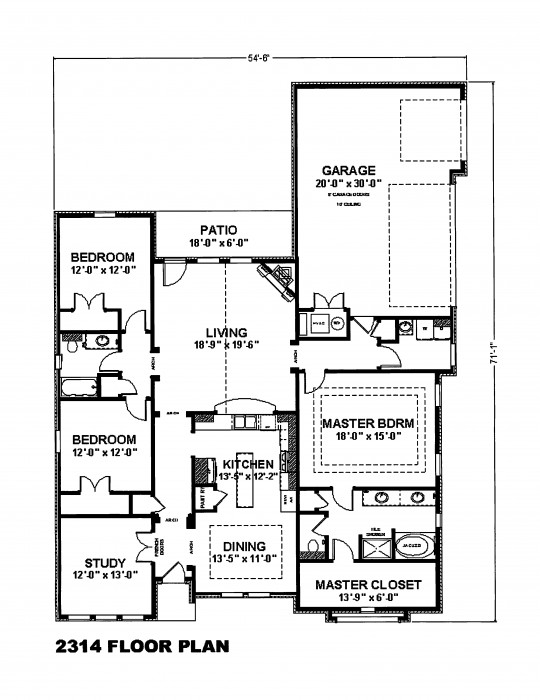 5001 Blue Mesa Floor Plan