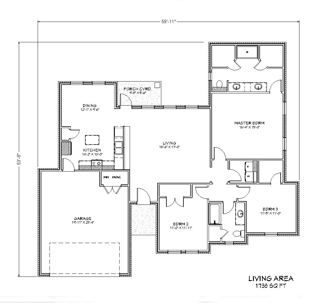 5021 Olivia Ln – 1738 SqFt – Wichita Falls TX images