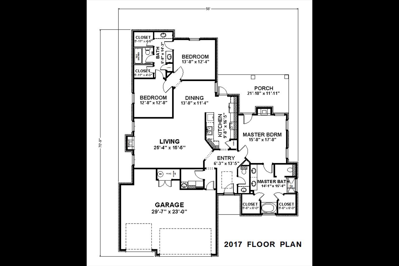 2017 / 3bd – 2 1/2bth – 3 Garage images